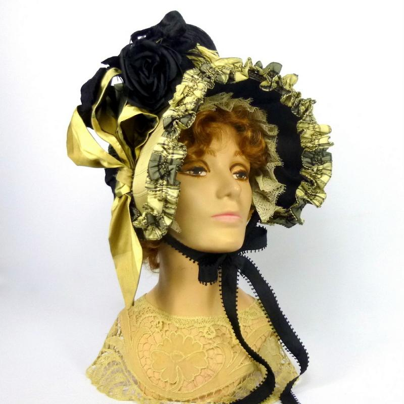 Repoduction of 1800s Formal Bonnet