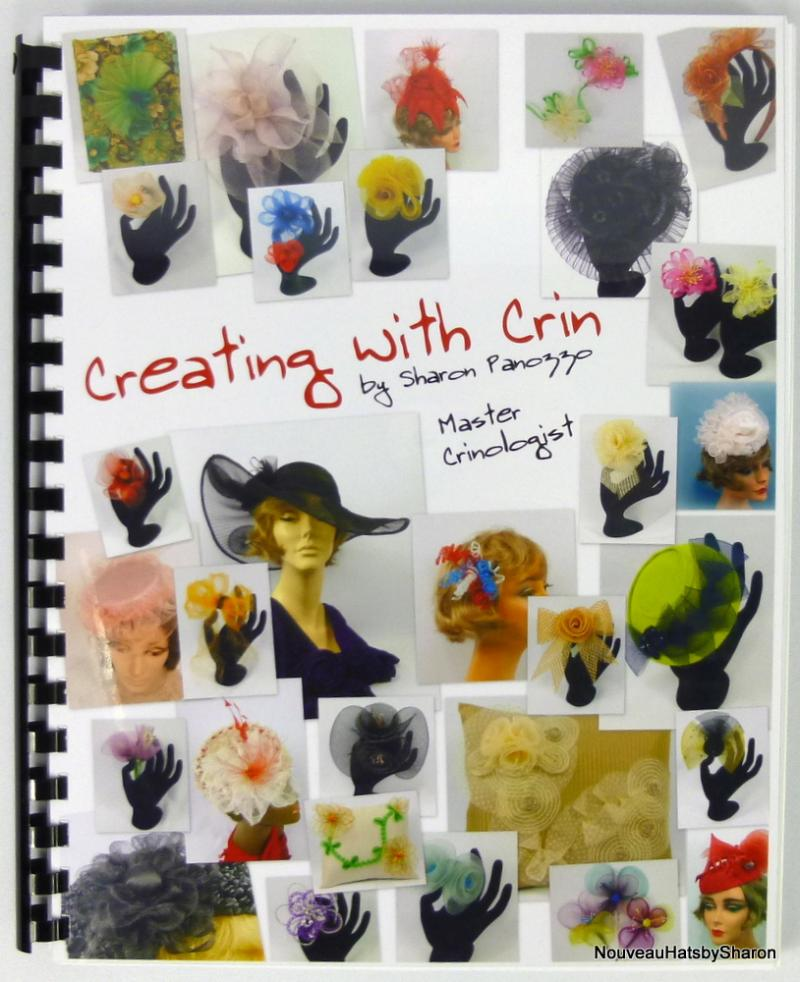 Creating with Crin craft book - front cover