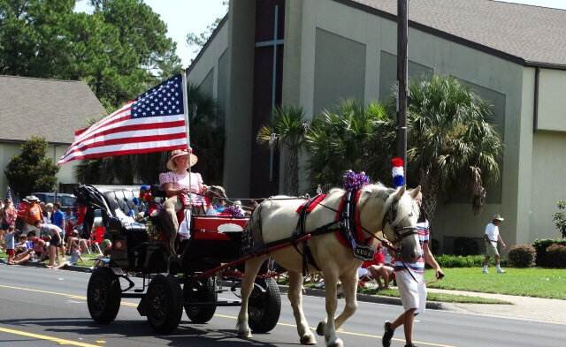 Fourth of July Parade in Florida
