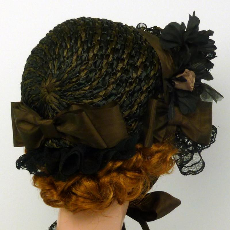 Repoduction 1800s Day Bonnet