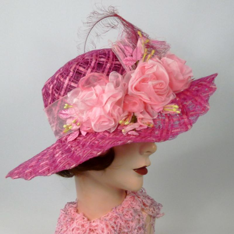 Timeless Straw & Lace Kentucky Derby Hat