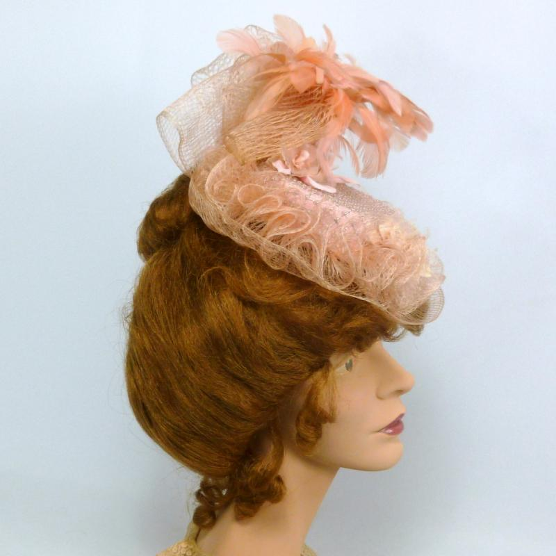 Reproduction Victorian Traveling Hat