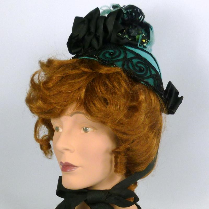 Beautiful reproduction of an 1800s bonnet hat